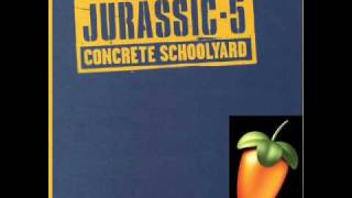 Jurassic 5- Concrete Schoolyard Instrumental (Drum Break Version)