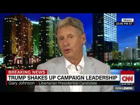 Gary Johnson: 2016 race is missing truth and honesty