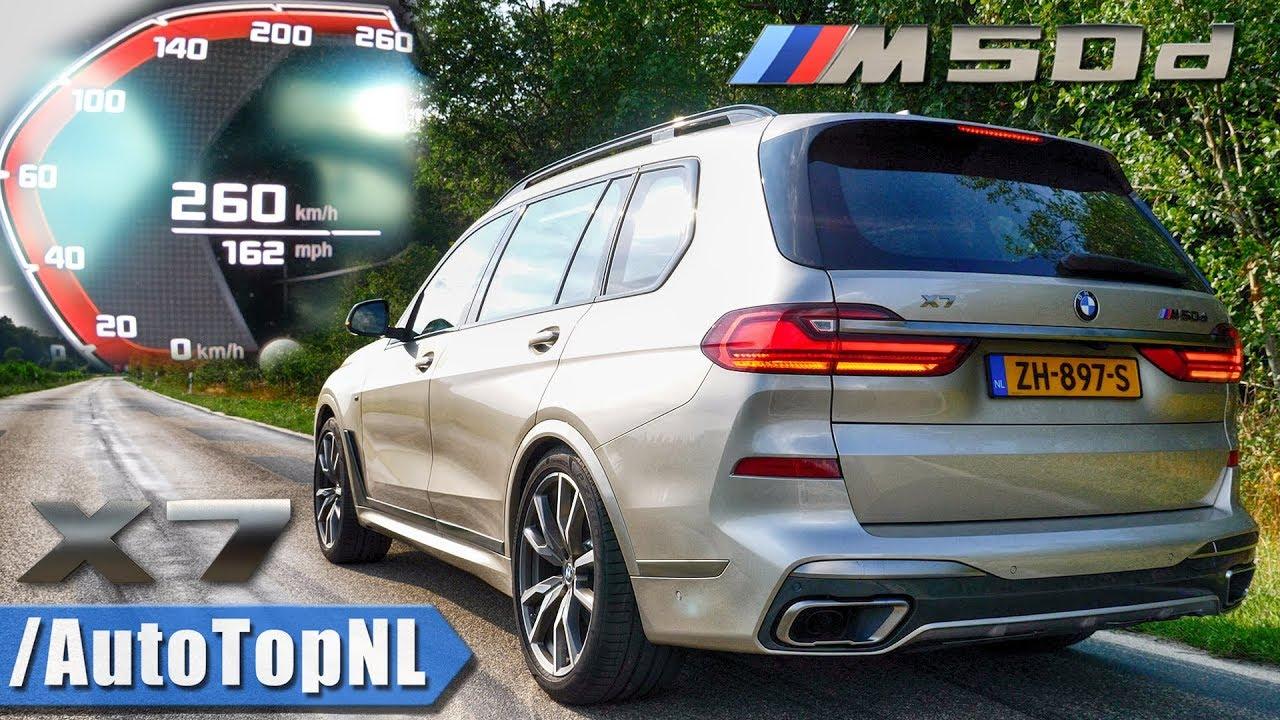 BMW X7 M50d akcelerácia a maximálna rýchlosť