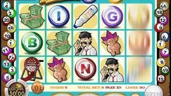 Five Reel Bingo Slot Machine Bonus Round