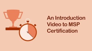 Introduction To MSP® Certification Training | Simplilearn