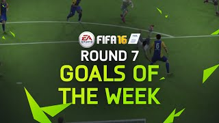 FIFA 16 - Best Goals of the Week - Round 7