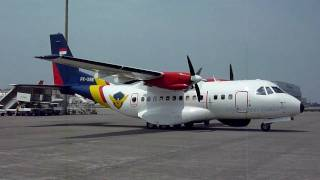 PK-XNE , Airtech CN-235-220M , South Korea - Coast Guard @ TaoYuan International Airport , Taiwan