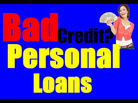 Personal Loans - Personal loans for bad credit (fast approval online) - YouTube
