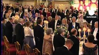 Staatsbankett für die Obamas im Buckingham Palast