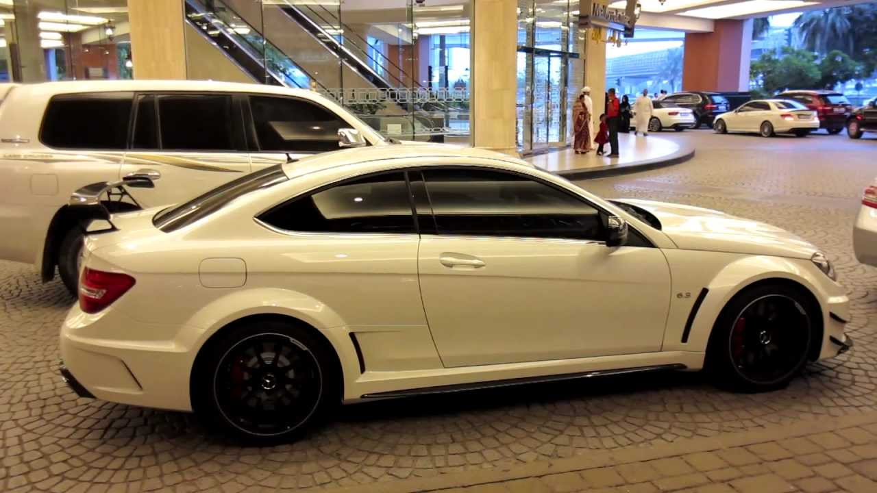 white c63 amg black series mercedes benz 99999 - Mercedes Benz C63 Amg Black Series White