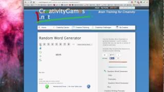 Random Word Generator Freestyle - Ethereal