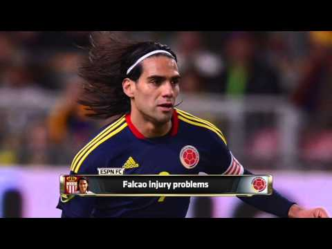 Falcao injury problems