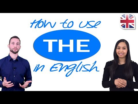 How to Use The - Articles in English Grammar