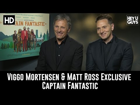 Viggo Mortensen & Matt Ross Exclusive Interview - Captain Fantastic