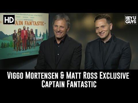 Viggo Mortensen & Matt Ross Exclusive   Captain tastic