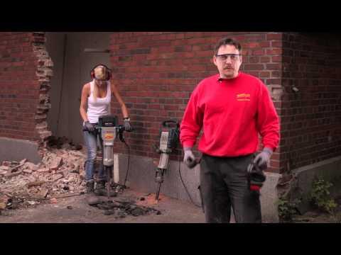 Video Aufbruchhämmer - Rentas Werkzeugvermietung