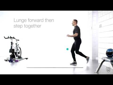 Wellness Wednesday: Walking Lunges