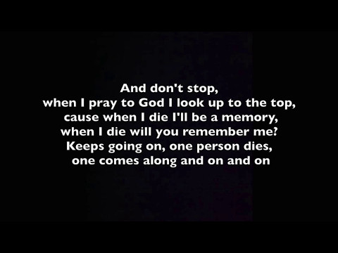 Stitches - When I Die (Lyrics)