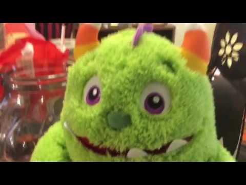 HalMark's Halloween singing dancing candy monster!