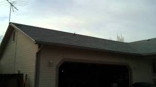 Rc helicopter lands on roof