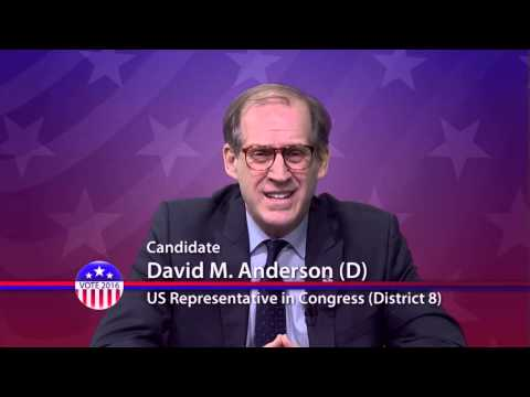 David Anderson (D), Candidate for U.S. Congress District 8 - Primary Election