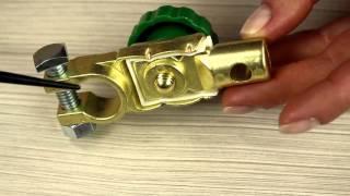 Аккумуляторная клемма с выключателем массы
