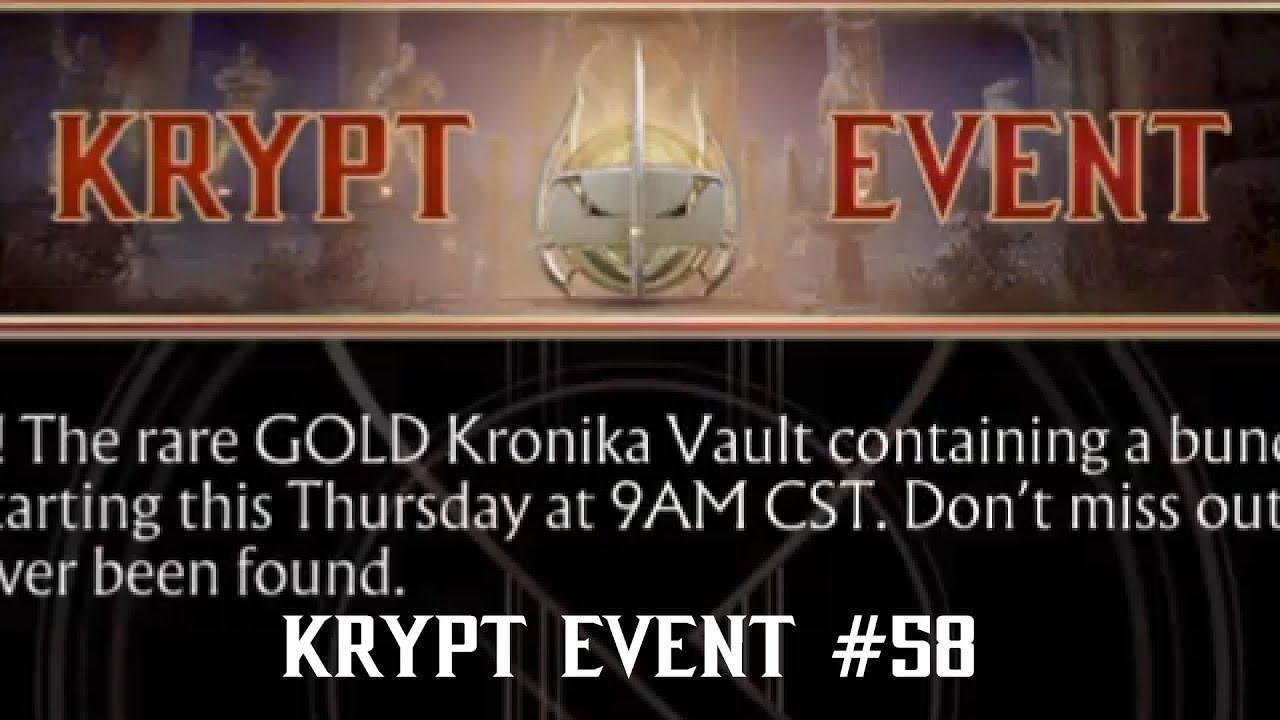 MK11 Krypt Event #58