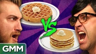 Waffles vs Pancakes: Debate-O-Rama