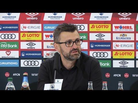 Pressekonferenz nach Stuttgart