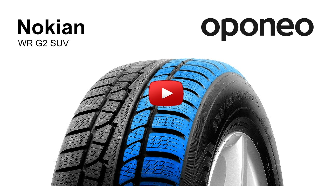 tyre nokian wr g2 suv winter tyres oponeo youtube. Black Bedroom Furniture Sets. Home Design Ideas