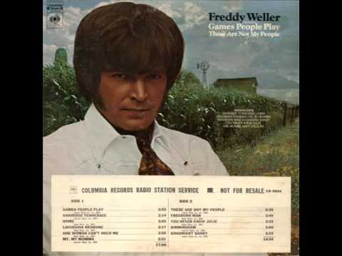 """Freddy Weller """"These Are Not My People"""""""