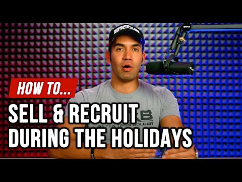 How to Recruit During the Holidays in Network Marketing.🎅