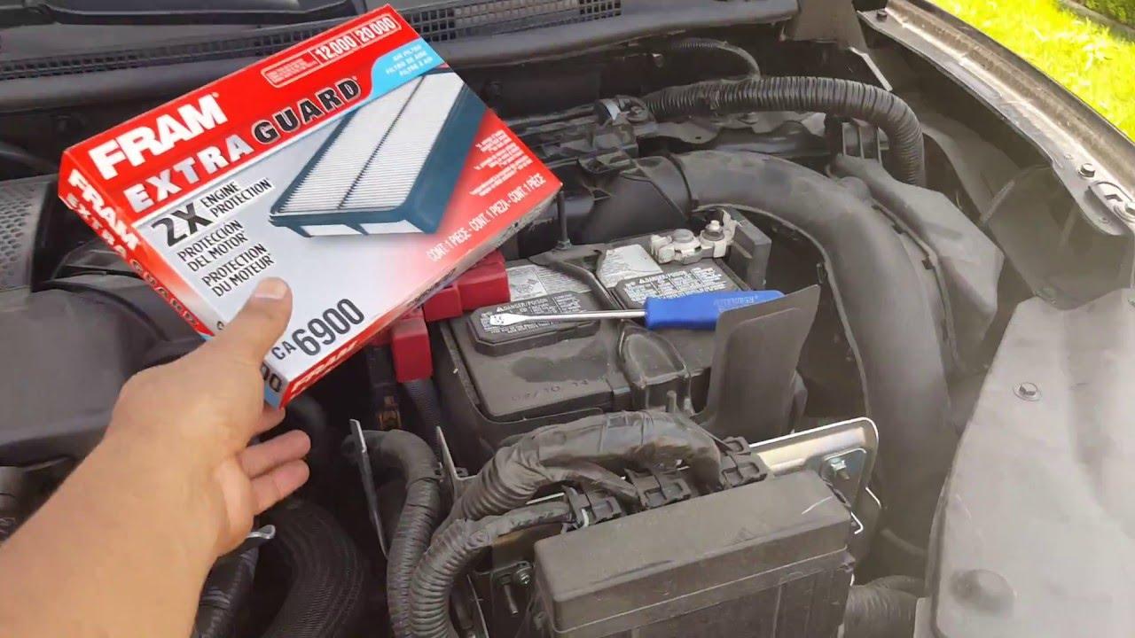 Como Cambiar Filtro De Aire Nissan Sentra