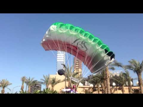 Chris McDougal 2nd Jump from Al-Hamra Tower Kuwait HD