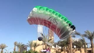 Chris McDougal 2nd Jump from Al-Hamra Tower Kuwait HD