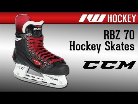 101060ae75e CCM RBZ 70 Ice Hockey Skate Review - YouTube
