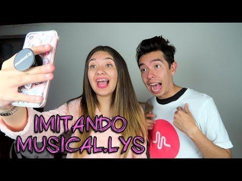IMITANDO MUSICAL.LYS CON MI HERMANITO AMI RODRIGUEZ - Amara Que Linda