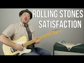 "How to Play ""(I Can't Get No) Satisfaction"" by The Rolling Stones on guitar - Guitar Lessons"
