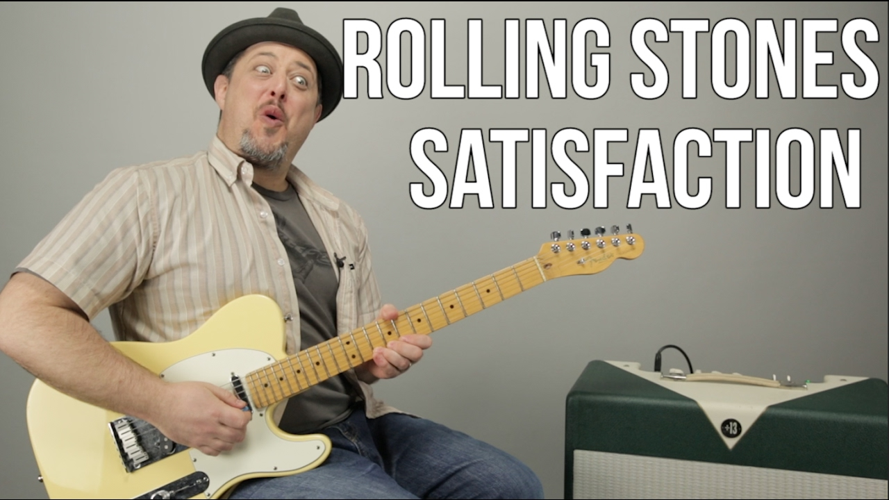 How To Play I Cant Get No Satisfaction By The Rolling Stones On