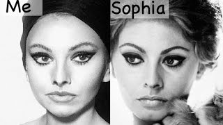 Sophia Loren Makeup Tutorial