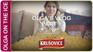 Olga's Vlog part 1 | #IIHFWorlds Pre-Game