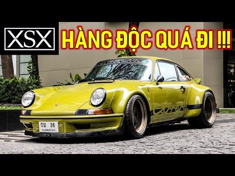 Khi hội chơi siêu xe cổ của đại gia Thái Lan họp mặt, có cả Porsche độ RWB, Porsche độ RUF,... | XSX