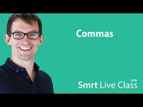 Commas - Intermediate English with Shaun #44