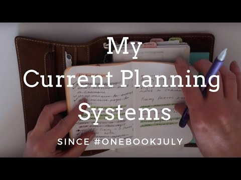 Current Planning Systems
