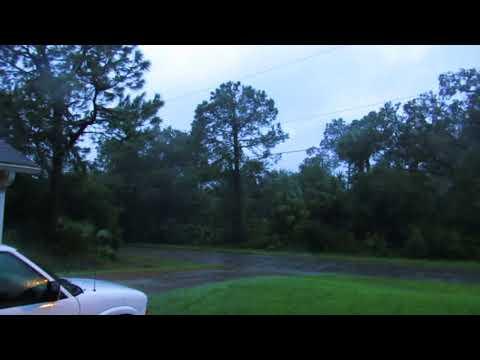 North Port, Florida 2017-09-10 730pm, Hurricane Irma, She's Getting Closer (?)