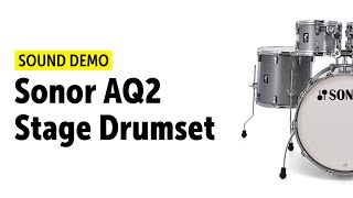 Sonor AQ2 Stage Drumset Sound Demo