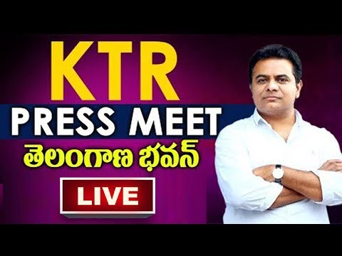 Live: KTR Press Meet about Exit Polls | Telangana Elections | TV5 News Live
