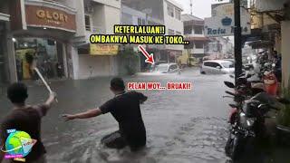 Download Banjir di Semarang Hari ini Seperti Lautan!! Air Masuk Kedalam Kantor Gubernur Jawa Tengah...