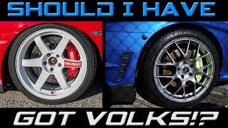 homepage tile video photo for Why I didn't buy Volk Wheels