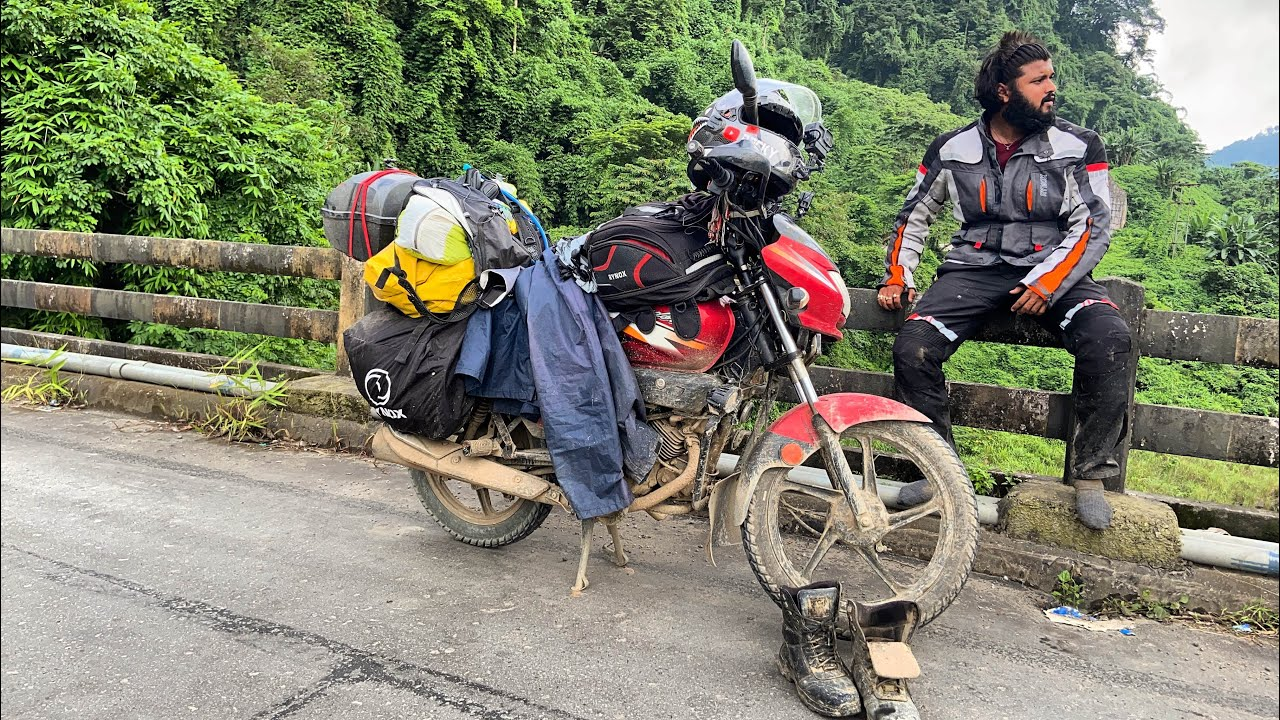 Tripura to Ladakh & Spiti solo ride on a super splendor : EP. 01 | Tour of Leh Ladakh & Spiti Valley