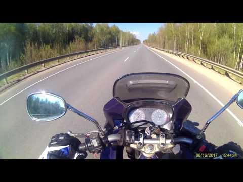 Поездка по трассе Тейково-Иваново на Yamaha Diversion