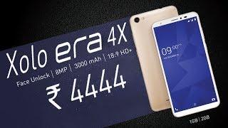 Xolo Era 4X - ₹4,444 ரூபாய் Entry-Level Smartphone!