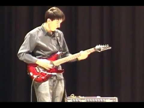 Joe satriani Summer Song (talent show 2013)