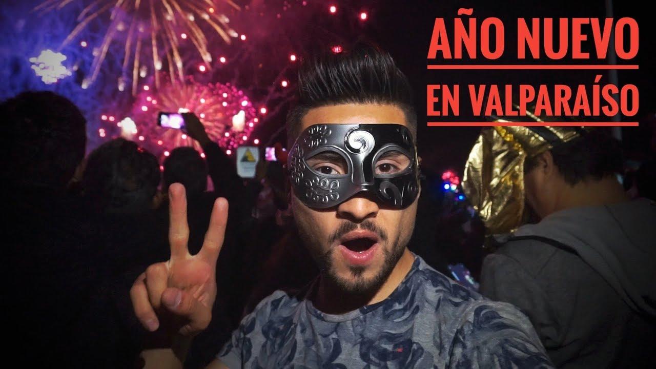 Vlog Ano Nuevo 2019 En Valparaiso Fuegos Artificiales Remate